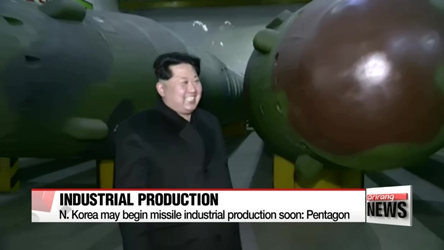 North Korea may develop reliable ICBM next year: Pentagon