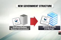 Moon administration officially restructures government ministries