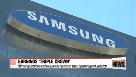 Samsung Electronics post triple-crown Q2 earnings