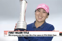 Korean golfer Kim In-Kyung wins LPGA Women's British Open