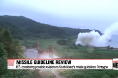 U.S. considering possible revisions to South Korea's missile guidelines: Pentagon