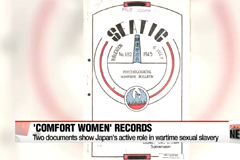 Historical records on Japan's military brothels of 'comfort women' revealed