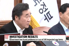 Government announces results of investigation into egg contamination in Korea