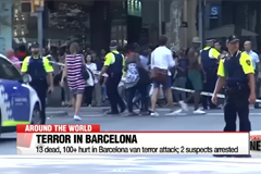 13 dead, 100+ hurt in Barcelona van terror attack; 2 suspects arrested