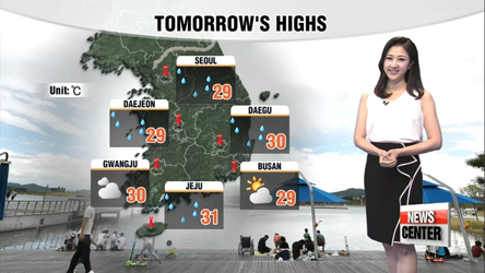 Expect cloudy and rainy weekend