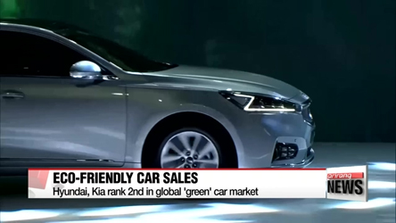 Hyundai, Kia rank 2nd in global 'green' car market