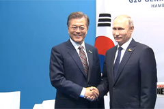 South Korean president to hold summit talks with Russian president in Vladivostok early September