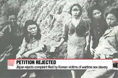 Japan refuses to accept petition filed by victims of wartime sexual slavery