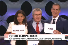 IOC confirms Paris & LA to host 2024 & 2028 Olympics, respectively