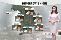 High fine dust levels, sporadic showers tonight