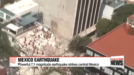 At least 139 dead after 7.1 magnitude earthquake strikes Mexico