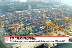 South Korea proposes second round of discussions on FTA with U.S.