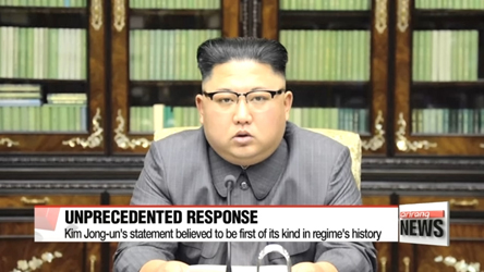 Kim Jong-un makes unprecedented statement at Trump as N. Korea suggests future H-bomb test in the Pacific