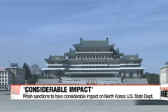 Further unilateral sanctions to have impact on N. Korea: U.S. State Dept.