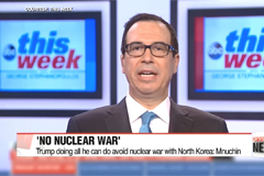Trump doing all he can do avoid nuclear war with North Korea: Mnuchin