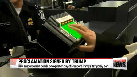 White House issues updated travel ban; N. Koreans will be completely banned from...