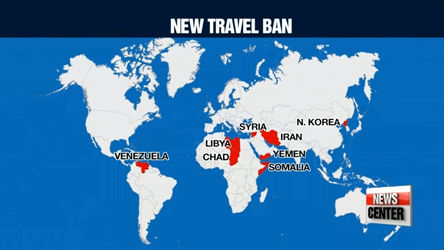 White House issues updated travel ban; N. Koreans will be completely banned from entering U.S.