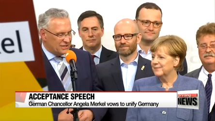 Angela Merkel promises to win back voters of far-right AfD