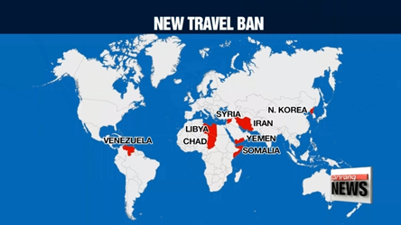 White House issues updated travel ban; N. Koreans will be completely b...
