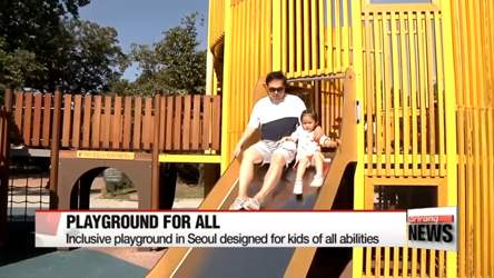 Korea to expand playground for all children