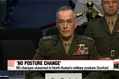 Top U.S. general says North Korea's military posture remains unchanged,
