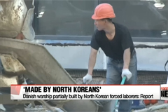 Danish warship partially built by North Korean forced laborers: Report