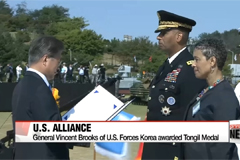 South Korea shows off military hardware in Armed Forces Day ceremony... with one eye on North Korea