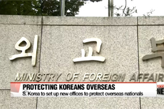 South Korean foreign ministry plans to strengthen protection for Koreans abroad