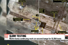 North Korea Continues Work on Second Barge Used for SLBM Testing