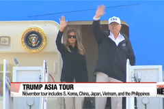 Trump to visit South Korea and other Asian nations in November