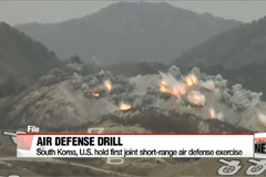 South Korea, U.S. hold first joint short-range air defense exercise
