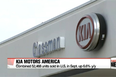 Kia marks record-high monthly sales in U.S. during Sept.
