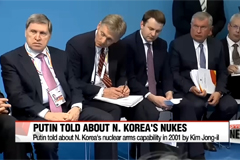 Putin personally told about N. Korea's nuclear arms capability in 2001 by Kim Jong-il