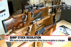 NRA and White House open to idea of regulating bump stocks