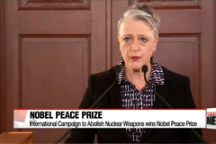 International Campaign to Abolish Nuclear Weapons wins 2017 Nobel Peace Prize