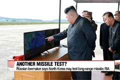 Russian lawmaker says North Korea may test long-range missile