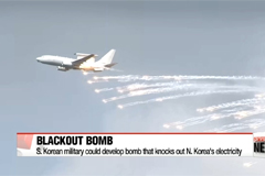 S. Korean military has acquired 'Blackout Bomb' technology
