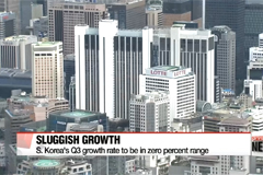South Korea's Q3 growth rate to be in zero percent range