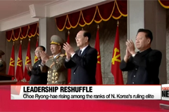Leadership reshuffle being seen among North Korea's top party officials