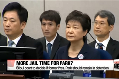 Seoul court to review whether to extend former President Park's detention