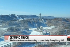 South Korea to submit UN draft resolution to ensure peace during the 2018 Winter Olympics