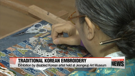 'Embroidering tradition,' Artist showcases traditional Korean embroidery