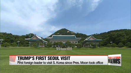 Seoul, Washington confirm Nov. 7 bilateral summit in Seoul... first state visit by U.S. president in 25 years
