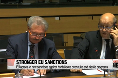 EU agrees on new sanctions against North Korea over nuke and missile programs