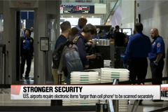 TSA introduces new carry-on baggage screening measures in U.S. airports