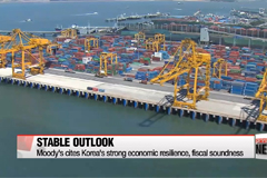 Moody's keeps Korea's economic condition rating stable at Aa2