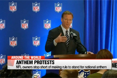 NFL leaders, players meet to discuss anthem protests