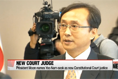 President Moon names new Constitutional Court justice to round out 9-member bench