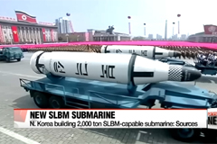 U.S. intelligence sources say N. Korea is building a new 2000 ton SLBM capable submarine