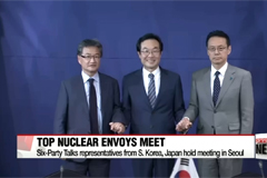 South Korean and Japanese nuclear envoys engage in further talks over North Korea